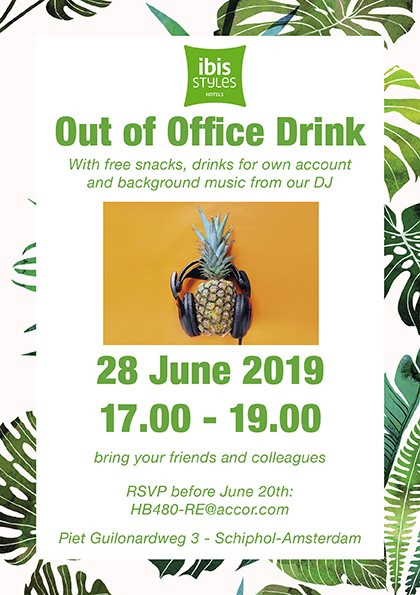Summer Out of Office Drink  June 28th