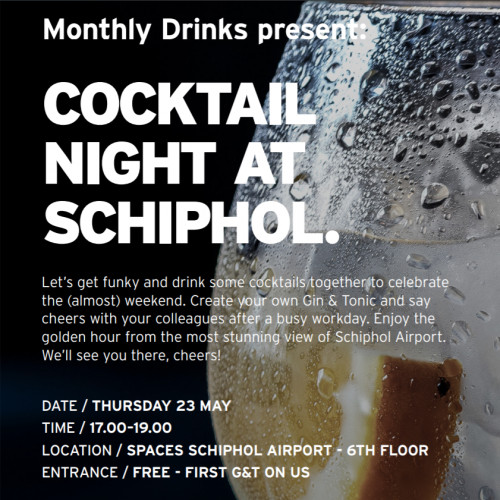 Spaces Monthly Drinks: G&T night