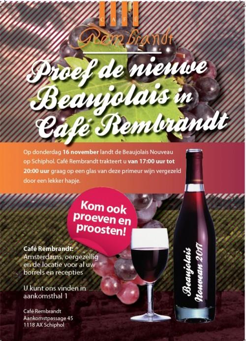 Café Rembrandt presenteert: Beaujolais 2017