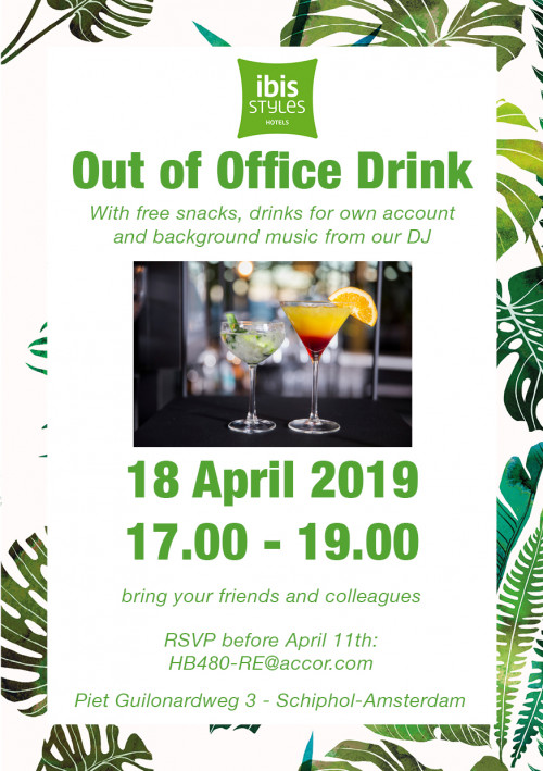 Out of Office Drink  18th of April 2019