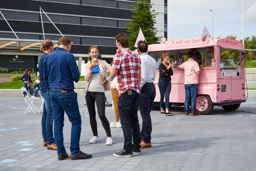Free ice cream for Spot members (Schiphol East)