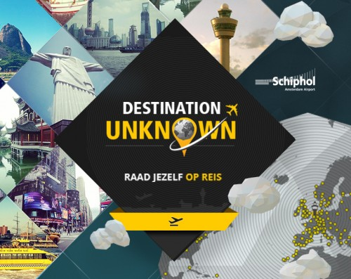 Crowdtest: Schiphol Destination Unknown