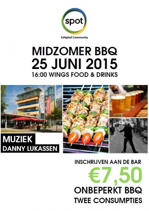 Midzomer BBQ Schiphol Oost