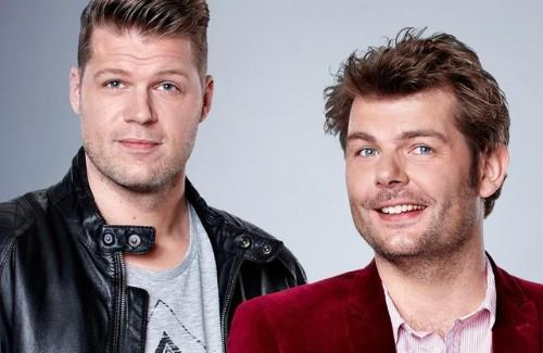 Coen en Sander Show op Schiphol