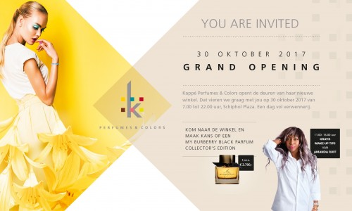 Opening nieuwe winkel Kappé op Schiphol Plaza