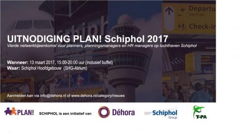 Programma van Plan! Schiphol 13-03-2017