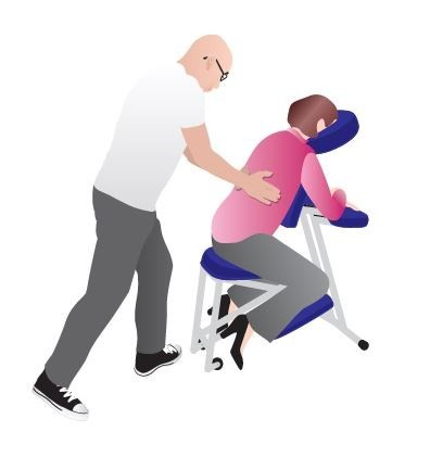 Chair massage in The Base: New dates added!