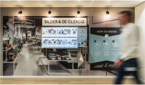 Bilder & de Clercq Walls exit Schiphol