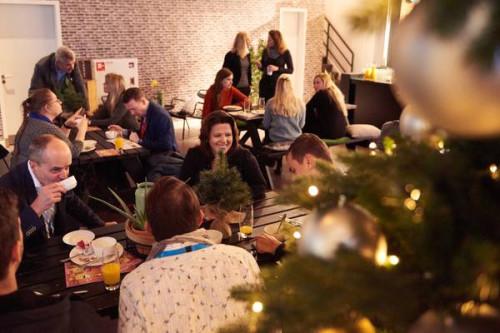 Gespot: Kerstontbijt Schiphol Oost