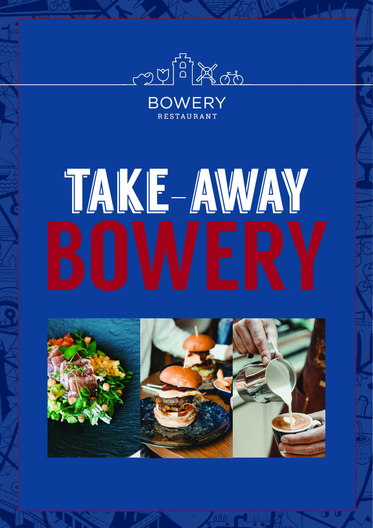 Grab 'n Go Menu at Bowery