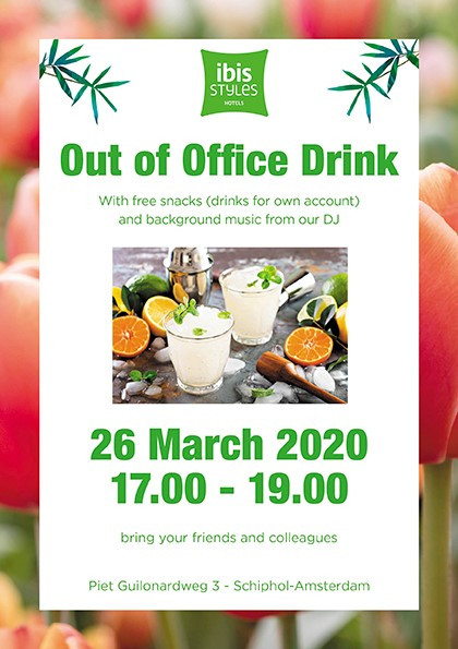 Out of Office Drink  26th of March 2020