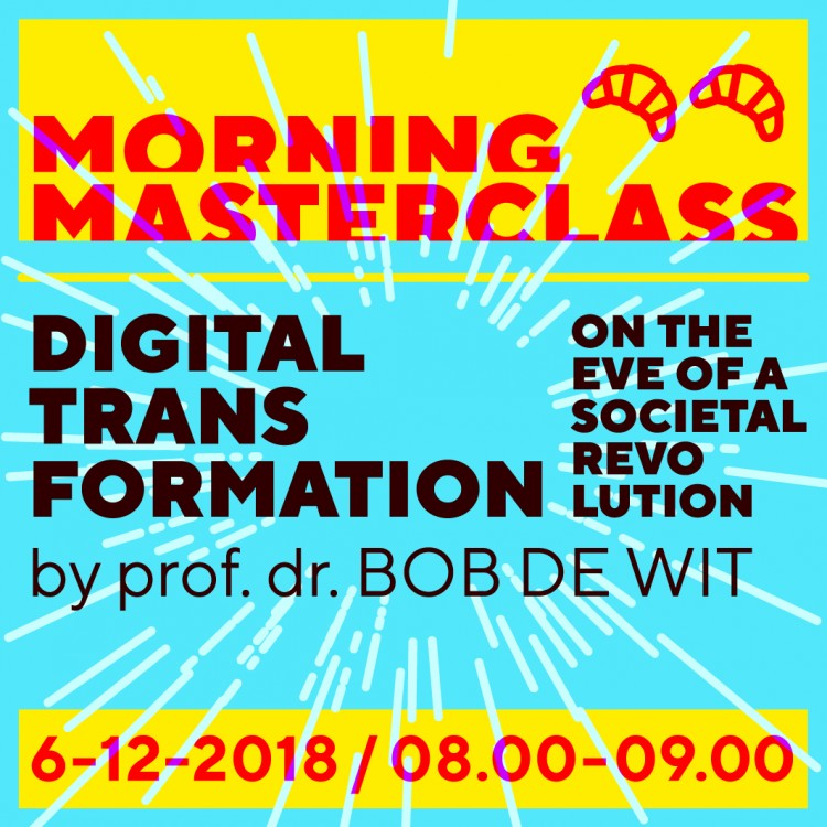 Morning Masterclass: Digital Transformation (100 seats available)