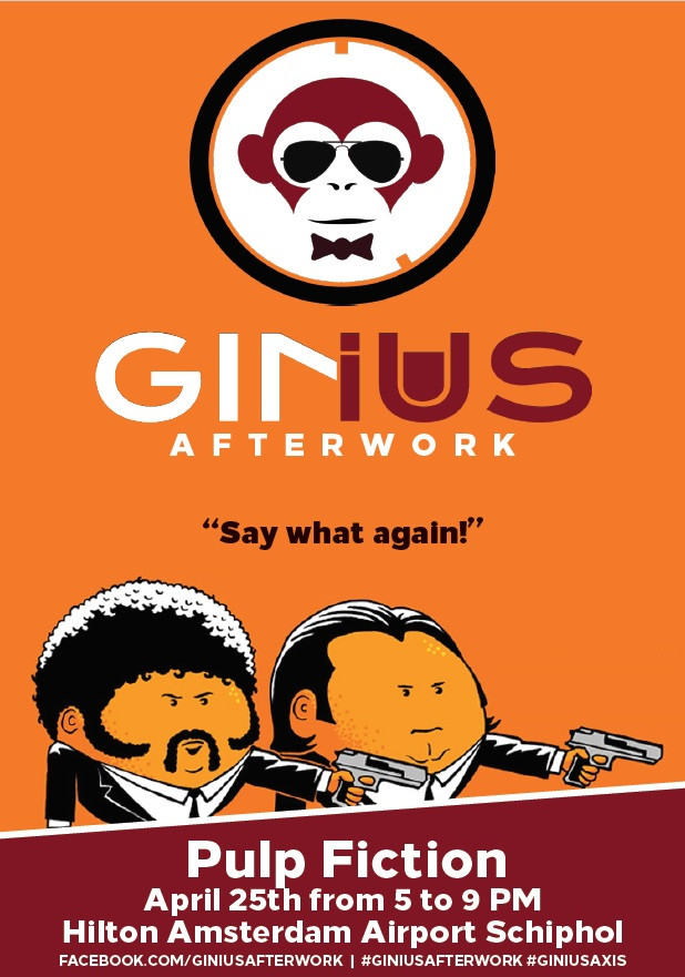 16th GINius afterwork l Pulp Fiction