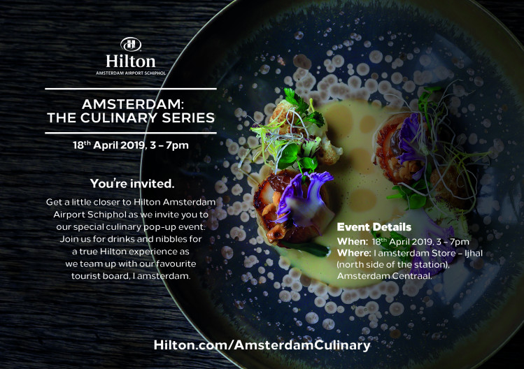 GINius On Tour – Culinary Pop-up IAMsterdam Store
