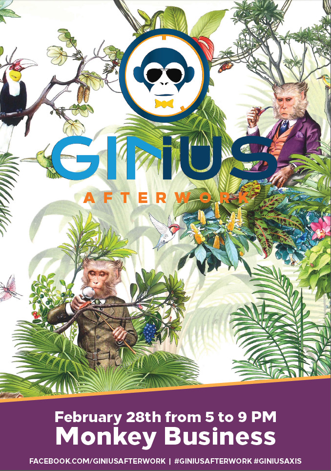 GINius AFTERWORK x MONKEY 47