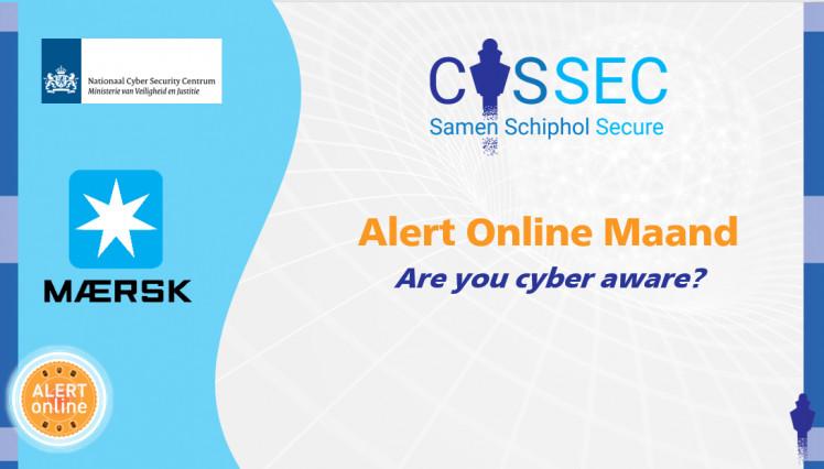 CYSSEC Kick-off sessie 'Alert Online Maand': Maersk en NCSC vertellen