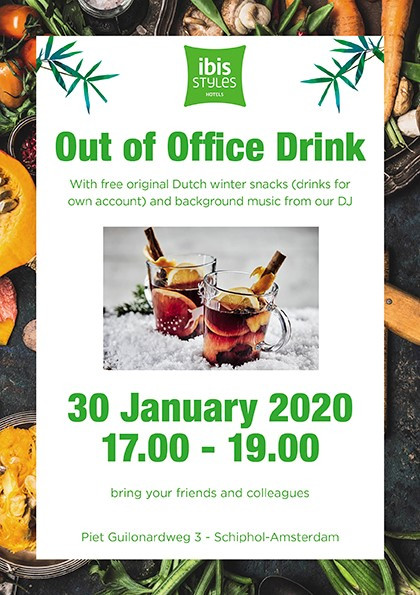 Out of Office Drink  30th of January 2020