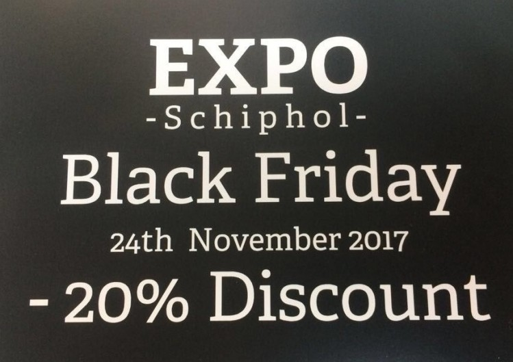 Black Friday uitverkoop EXPO