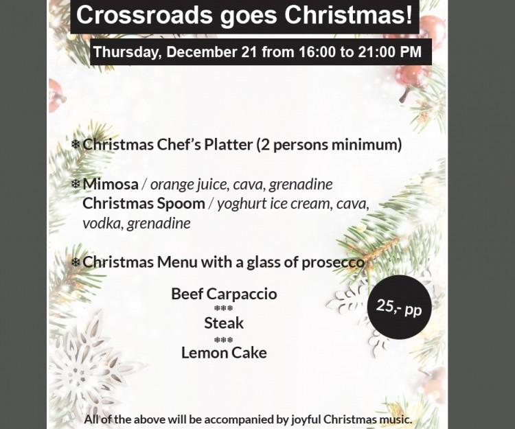 Crossroads goes Christmas!
