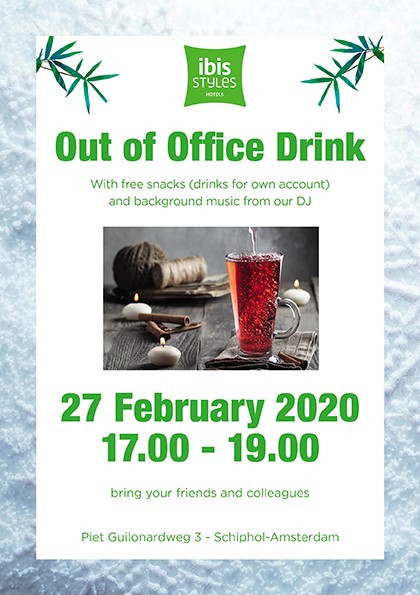 Out of Office Drink  27th of February 2020