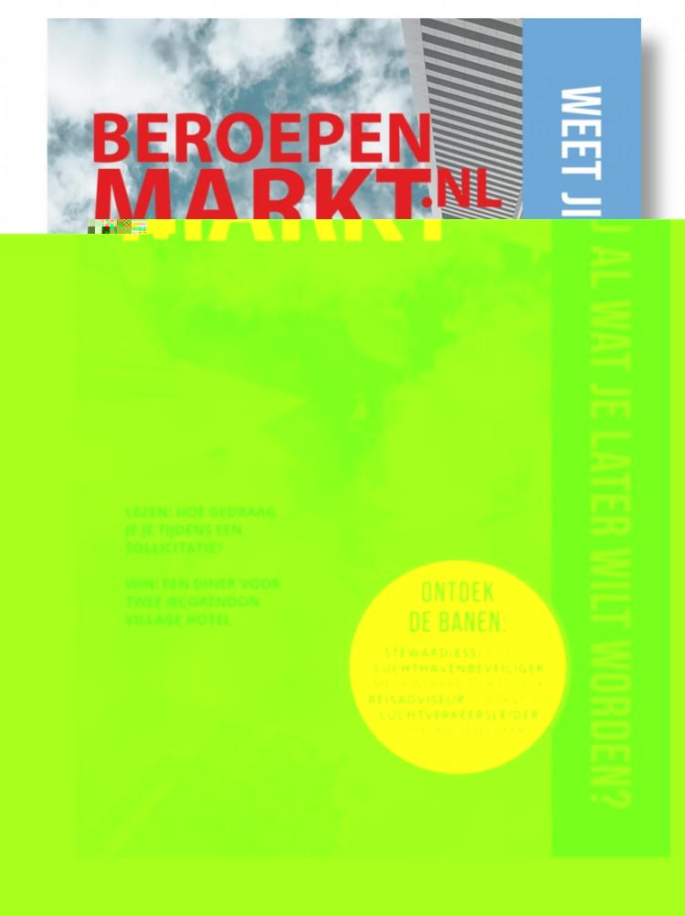 Event Beroepenmarkt voor luchtvaart- en reisindustrie