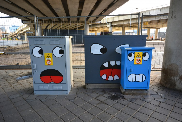 Street Art Museum Amsterdam presents: Office Walk With a Twist