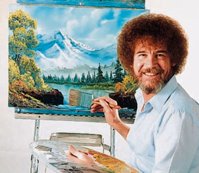 Bob Ross Painting Workshop