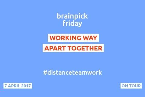 Free Lunch Friday - 'Distance Team Work'