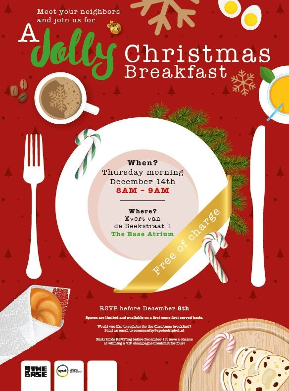 Christmas Breakfast at The Base