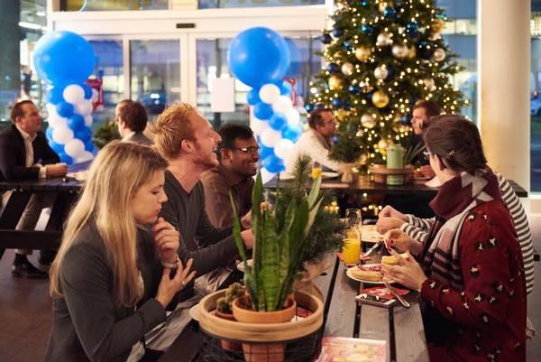Christmas Breakfast in Schiphol Oost