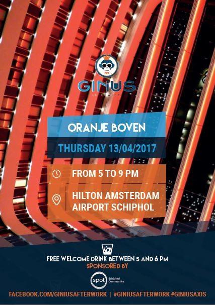 GINius Afterwork - Oranje Boven