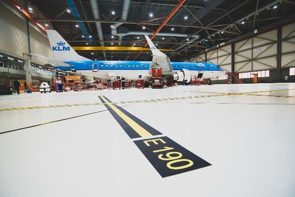 Behind the scenes: KLM Technical Area (fietstocht)
