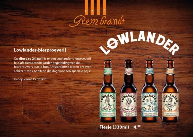 Lowlander beer tasting