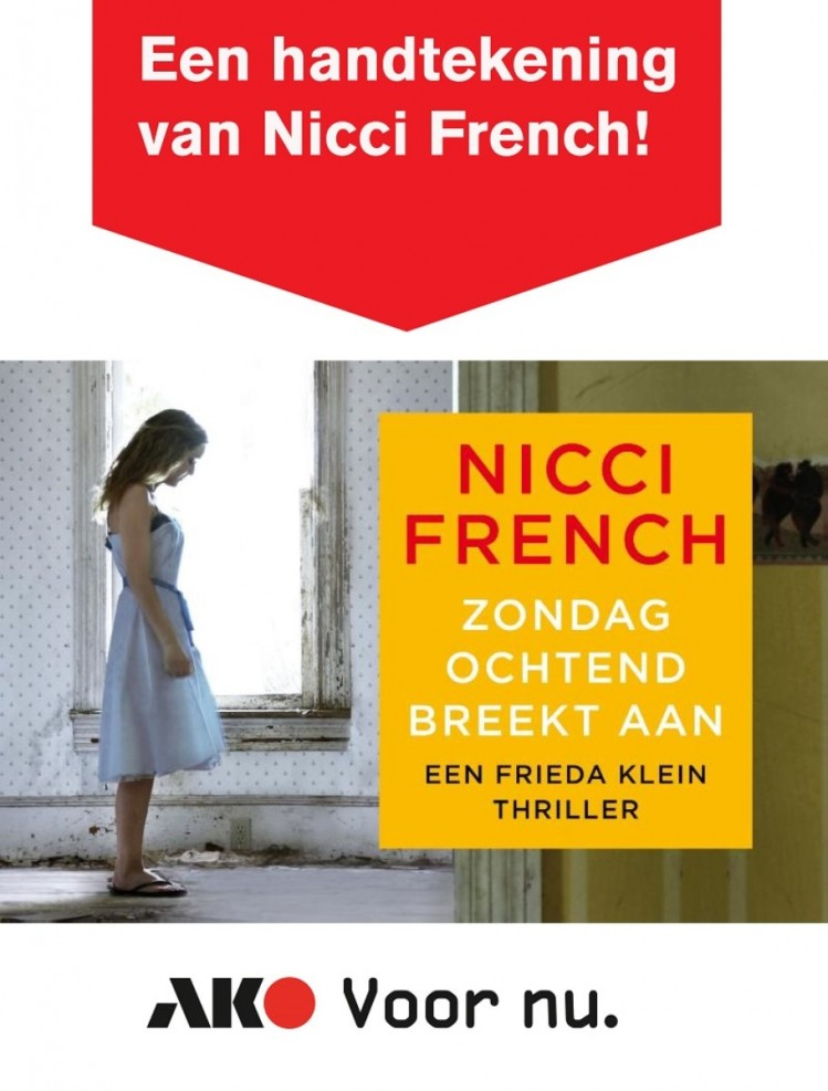 Signeersessie Nicci French