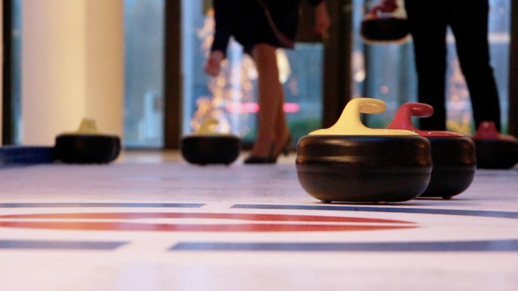 Curling @ Hilton Amsterdam Airport Schiphol