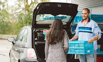 New at The Base: Albert Heijn Mobile Pick Up Point