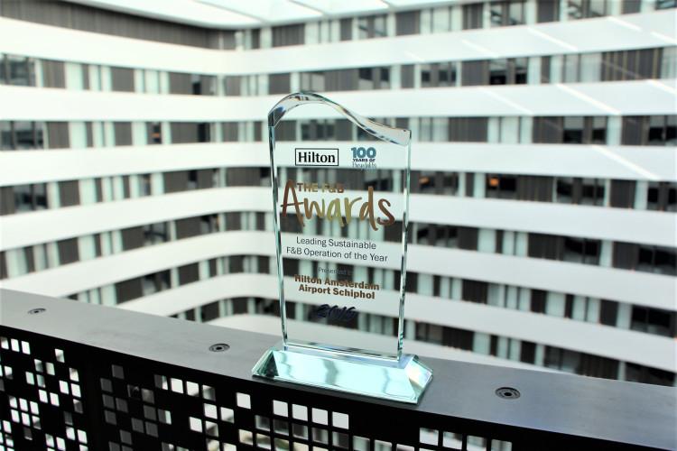 Hilton Schiphol wins Sustainable F&B Award