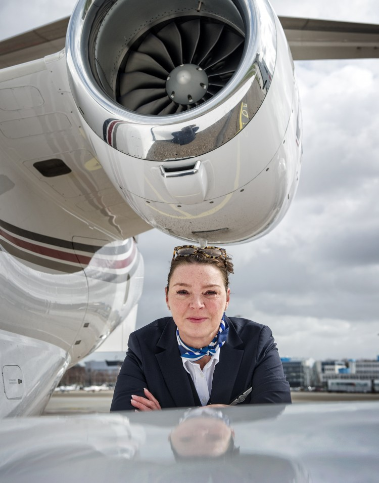 Nicole Sammels: Captain for VIPs