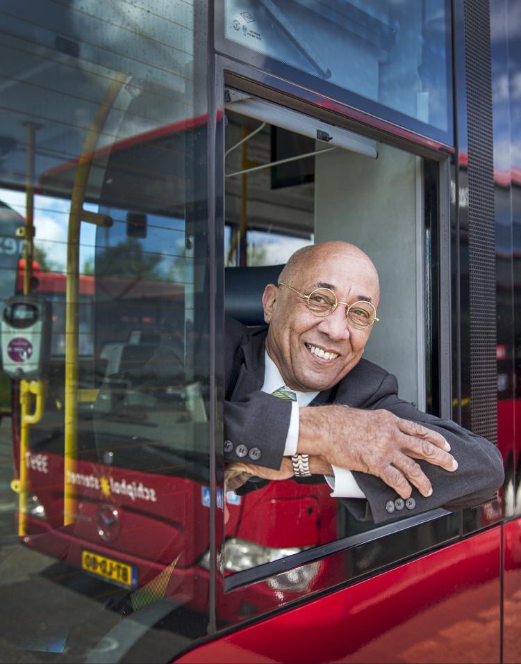 Robert van Aanholt: A ray of sunshine on the bus
