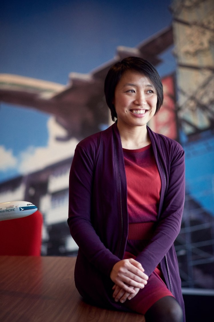 Winnie Tong, wereldburger en Country Manager bij Cathay Pacific