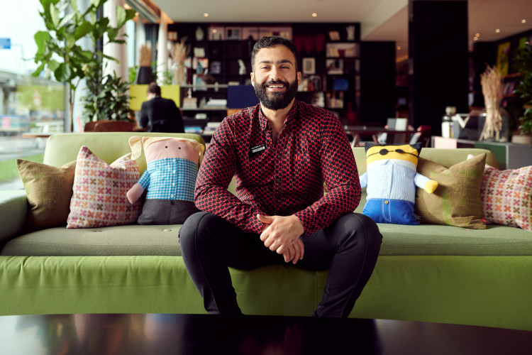 "Jamal Nasser from hotel citizenM: ""We go to great lengths in our hospitality"""
