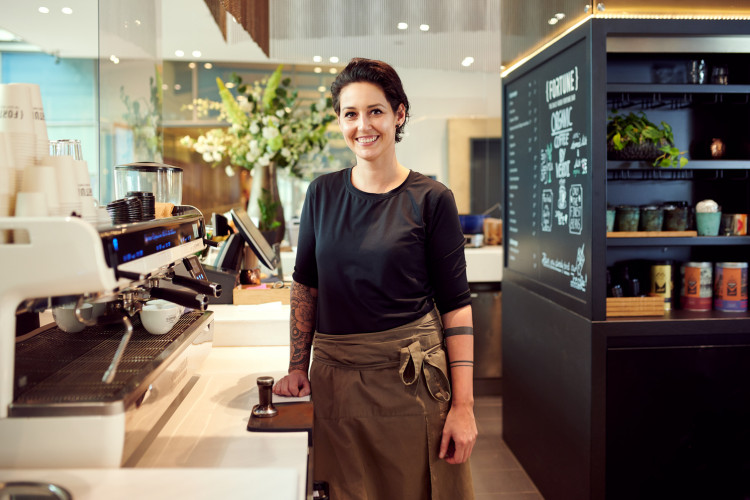 Barista Dana Petlan is improving the world with great coffee