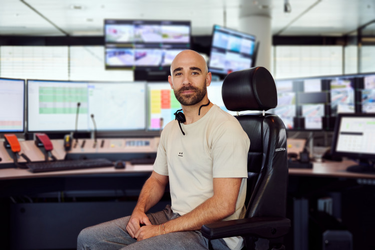 """Emergency call operator Gian Battista Marci: """"I can really make a difference for people"""""""