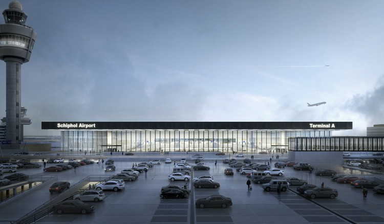 Architect nieuwe terminal bekend!
