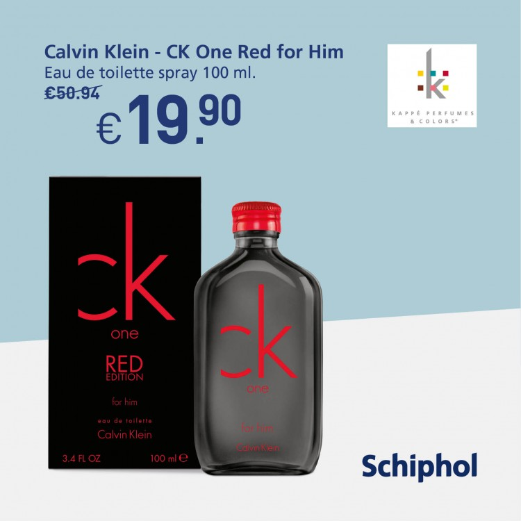 Special offer: Calvin Klein for him. Now available for €19.90