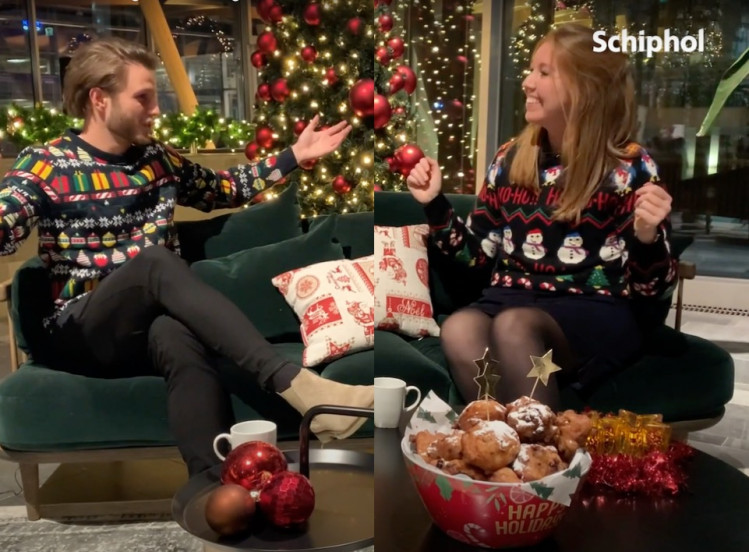 Video: looking back at 2020 in an ugly Christmas sweater