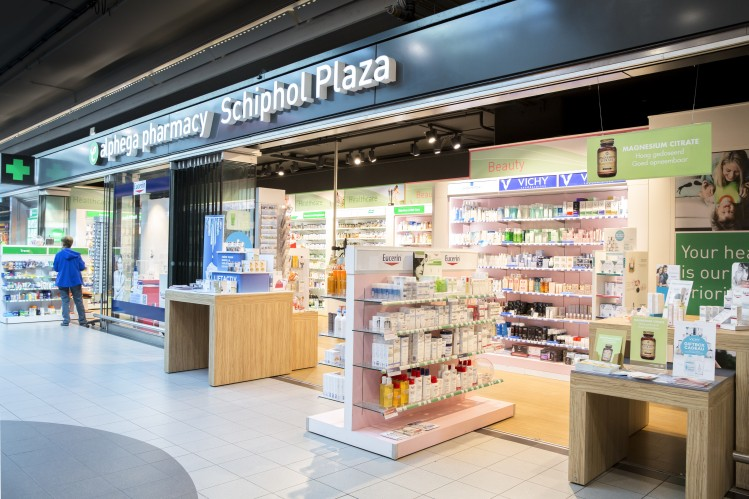 Your pharmacy at Schiphol Plaza