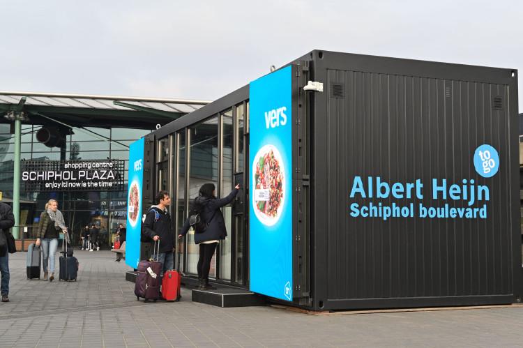 Digitaal boodschappen doen bij Albert Heijn