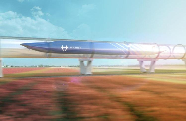 Schiphol onderzoekt toekomstige mobiliteit met Hardt Hyperloop