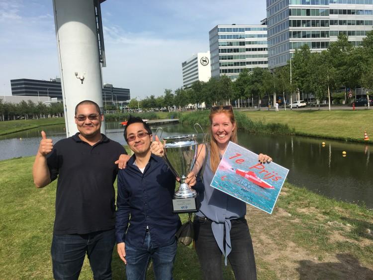 Spot Schiphol in de race voor Amref